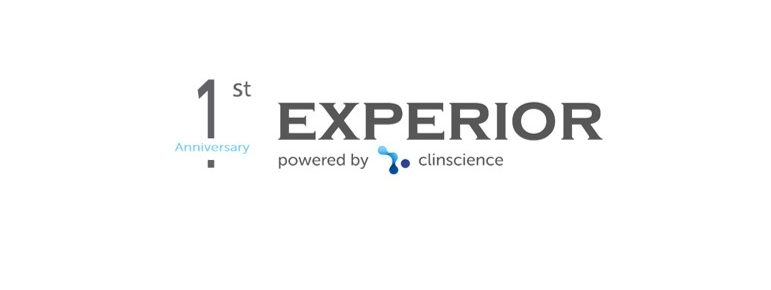 1st Anniversary Experior powered by Clinscience